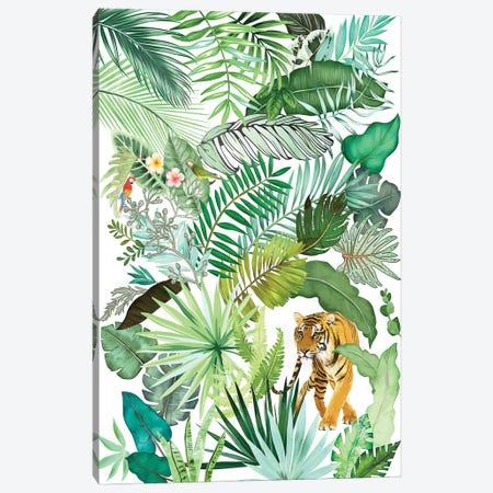 Jungle Tiger IV Canvas Print #AII129} by amini54 Canvas Wall Art