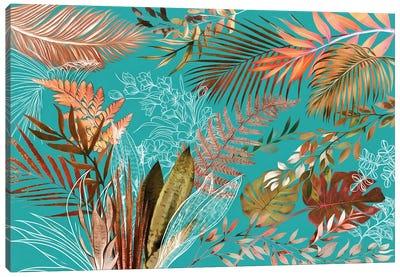 Tropical Foliage VIII Canvas Art Print