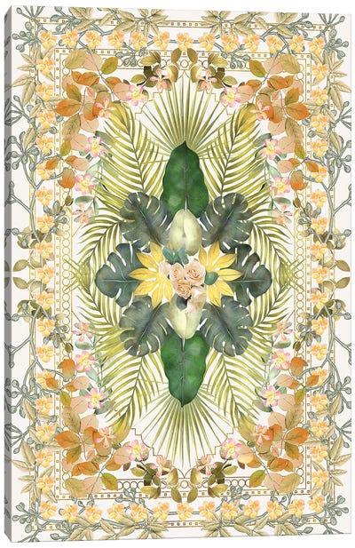 Tropical Foliage IX Canvas Art Print