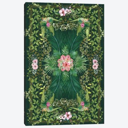 Tropical Foliage X Canvas Print #AII134} by amini54 Canvas Art