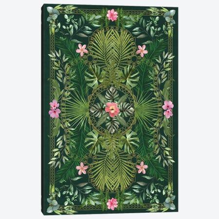 Tropical Foliage XV Canvas Print #AII135} by amini54 Canvas Art