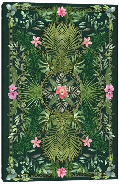 Tropical Foliage XV Canvas Art Print