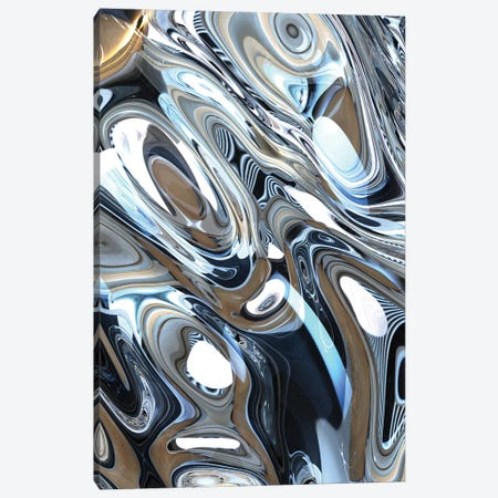 Turbulence V Canvas Print #AII139} by amini54 Canvas Art Print