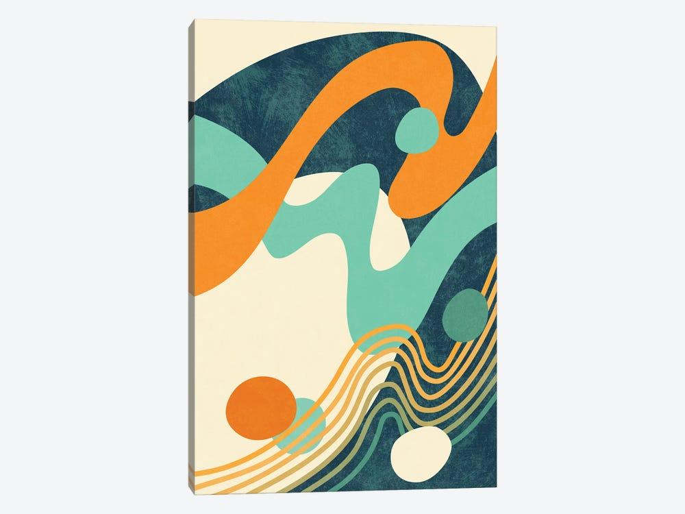 Waves II by amini54 1-piece Canvas Artwork