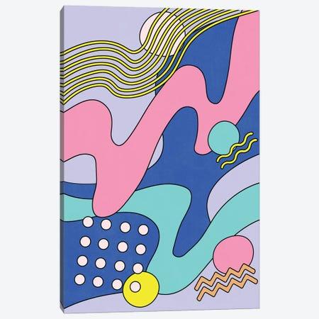 Waves III Canvas Print #AII144} by amini54 Canvas Art Print