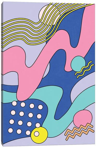 Waves III Canvas Art Print