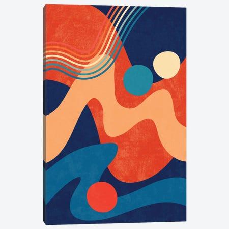 Waves IV Canvas Print #AII145} by amini54 Canvas Art Print