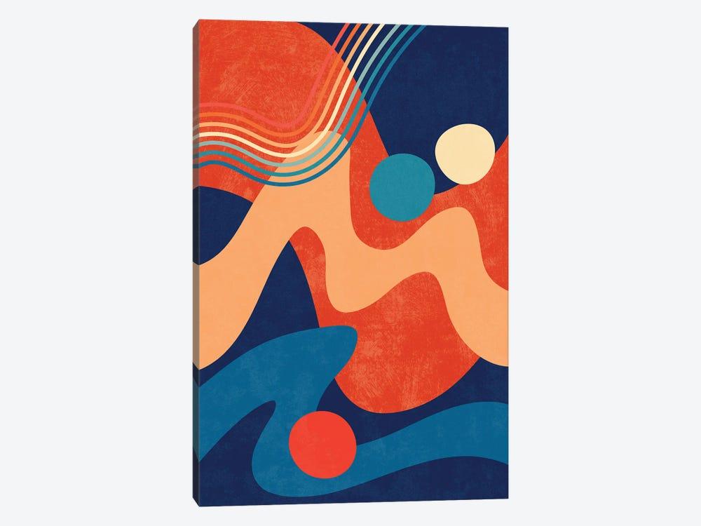 Waves IV by amini54 1-piece Canvas Artwork