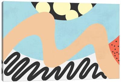 Waves XII Canvas Art Print