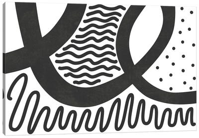 Waves XIX Canvas Art Print
