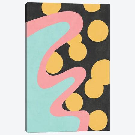Waves XXI Canvas Print #AII155} by amini54 Canvas Art