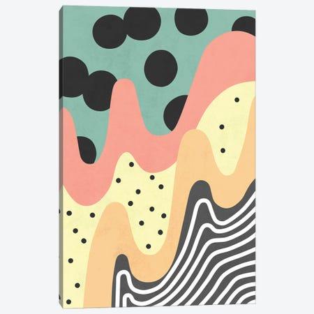 Waves XIV Canvas Print #AII158} by amini54 Canvas Print