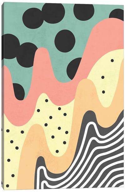Waves XIV Canvas Art Print