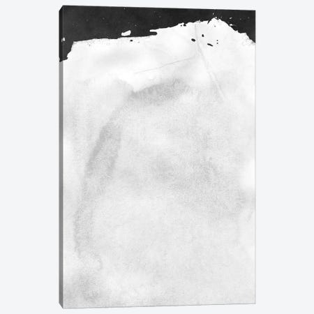 Minimal Landscape Black and White I Canvas Print #AII15} by amini54 Canvas Artwork