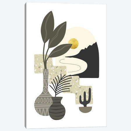 Tropical Villa VII Canvas Print #AII169} by amini54 Canvas Artwork
