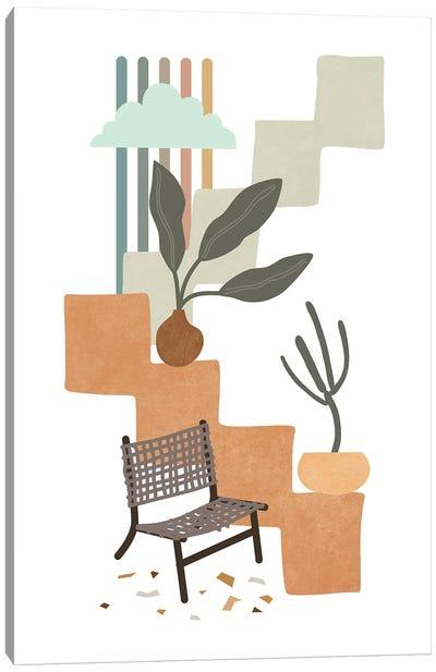 Tropical Villa X Canvas Art Print