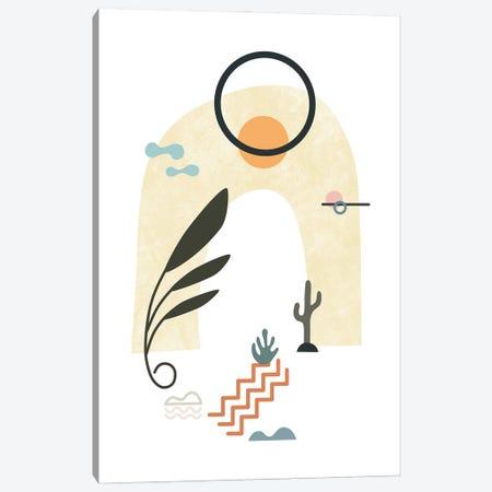 Tropical Villa XVI Canvas Print #AII178} by amini54 Canvas Print