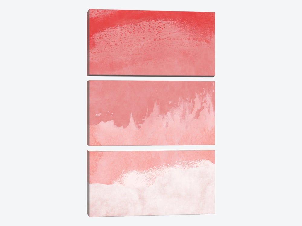 Minimal Landscape Pink II by amini54 3-piece Canvas Wall Art