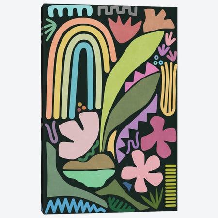 Under The Rainbow Canvas Print #AII248} by amini54 Art Print