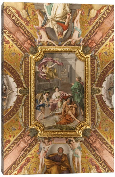 Musei Vaticani Canvas Art Print