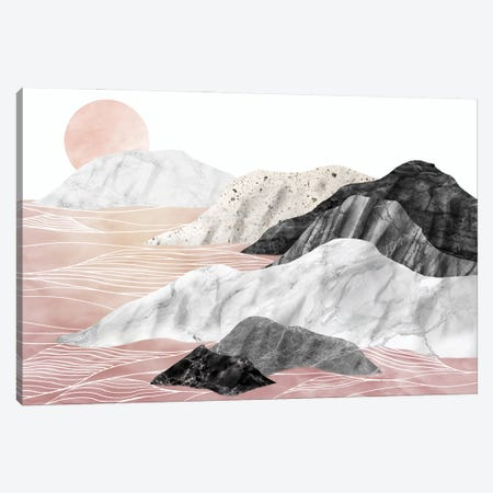 Marble Landscape I Canvas Print #AII38} by amini54 Canvas Print
