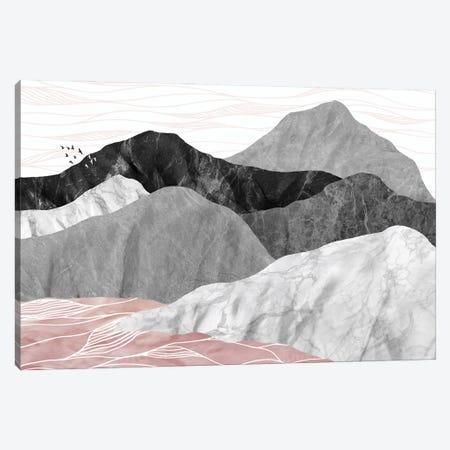 Marble Landscape II Canvas Print #AII39} by amini54 Canvas Print