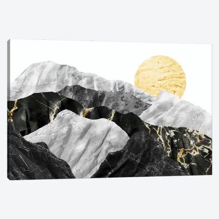 Marble Landscape IV Canvas Print #AII40} by amini54 Canvas Artwork