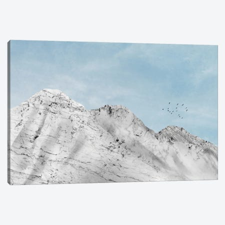 Marble Landscape VI Canvas Print #AII41} by amini54 Canvas Art