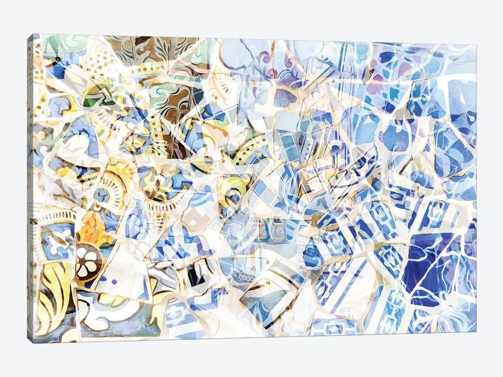 Mosaic of Barcelona I by amini54 1-piece Art Print