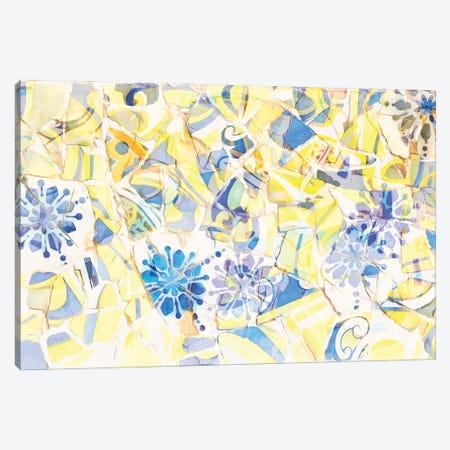 Mosaic of Barcelona III Canvas Print #AII60} by amini54 Canvas Art