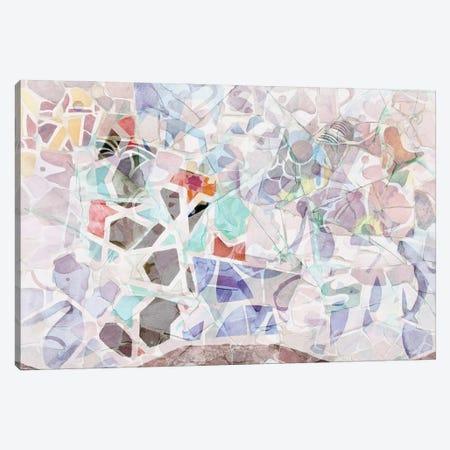 Mosaic of Barcelona V Canvas Print #AII62} by amini54 Canvas Art