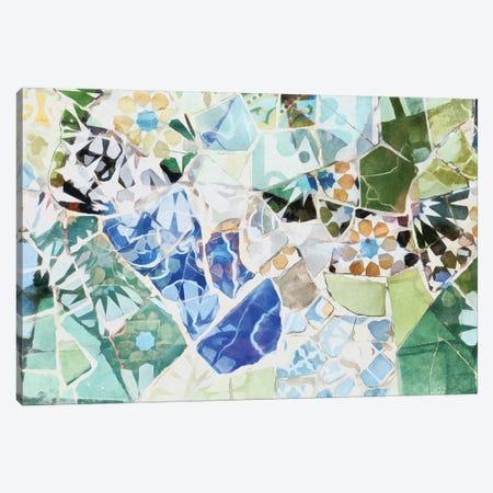 Mosaic of Barcelona VII Canvas Print #AII64} by amini54 Canvas Print