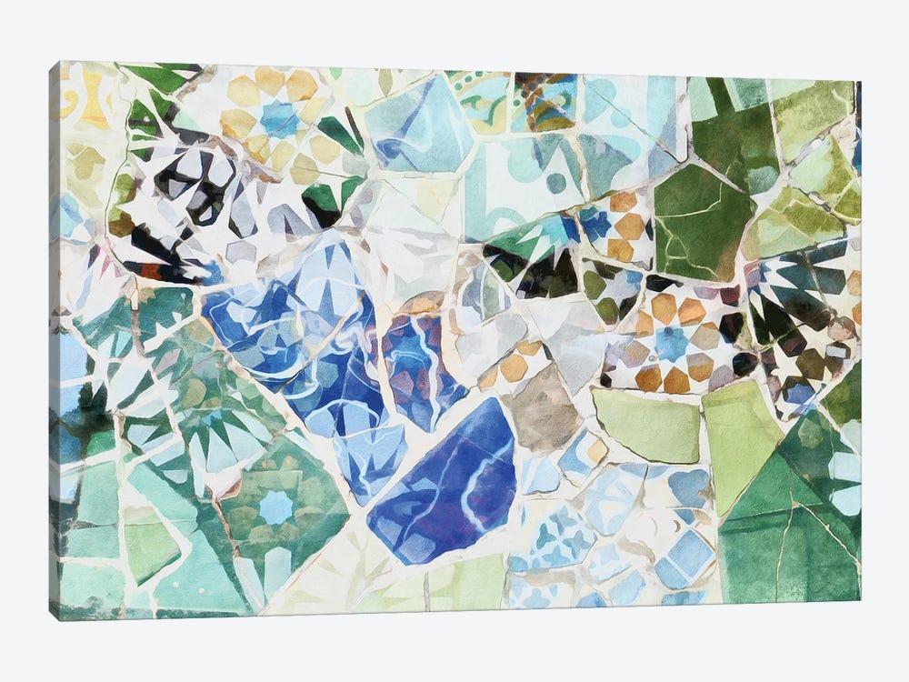 Mosaic of Barcelona VII by amini54 1-piece Canvas Art Print