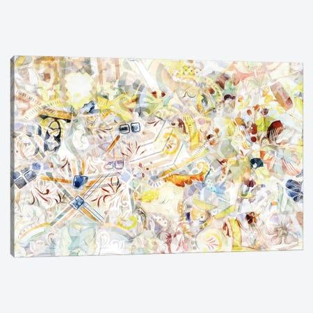 Mosaic of Barcelona XI Canvas Print #AII68} by amini54 Canvas Artwork