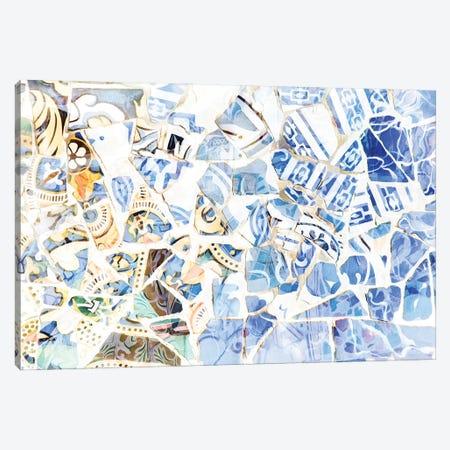 Mosaic of Barcelona XII Canvas Print #AII69} by amini54 Canvas Art