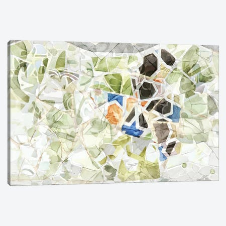 Mosaic of Barcelona XIII Canvas Print #AII70} by amini54 Art Print