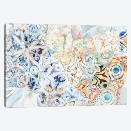 Mosaic of Barcelona XVIII Canvas Print #AII75} by amini54 Canvas Artwork