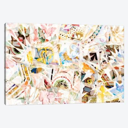 Mosaic of Barcelona XIX Canvas Print #AII76} by amini54 Canvas Wall Art