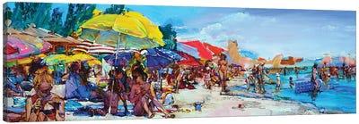 Let's Go Swimming? Canvas Art Print