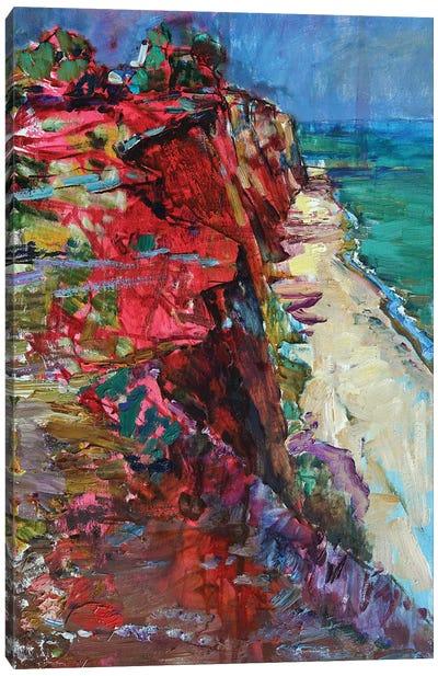 Coast By The Sea Canvas Art Print