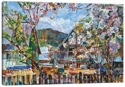 Blooming Garden Canvas Art Print