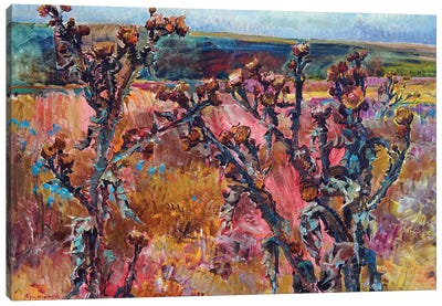 Autumn Silence Canvas Art Print