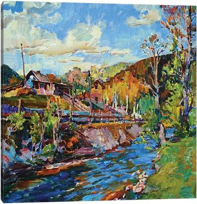 Rural Life Canvas Art Print