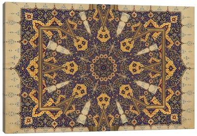 Mandala Series: Ancient Script Canvas Print #AIM10