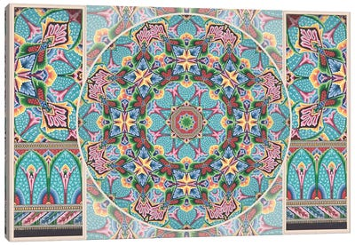 Mandala Series: Art Deco Canvas Art Print