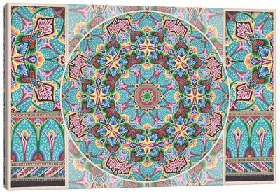 Mandala Series: Art Deco Canvas Print #AIM11