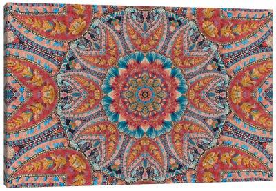 Mandala Series: Beaded Beauty Canvas Print #AIM12