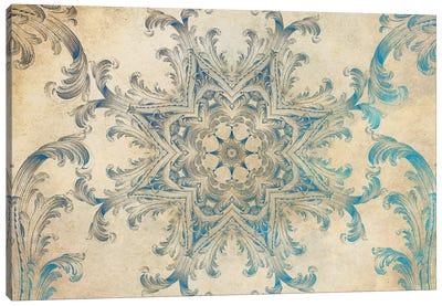 Mandala Series: Blue Sky Swirl Canvas Print #AIM13