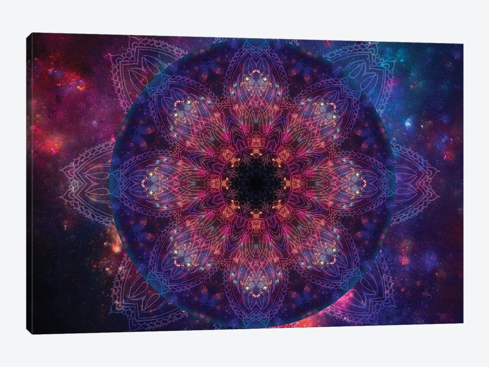 Mandala Series: Galactic Vision 1-piece Canvas Artwork