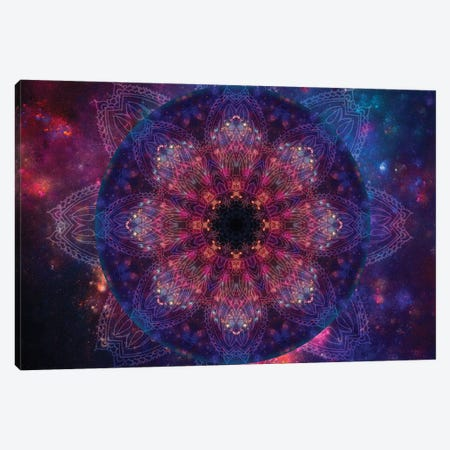 Galactic Vision Canvas Print #AIM15} by Aimee Stewart Canvas Artwork